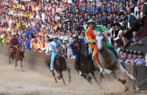 Лето в Тоскане: то, что нельзя пропустить - Palio di Siena