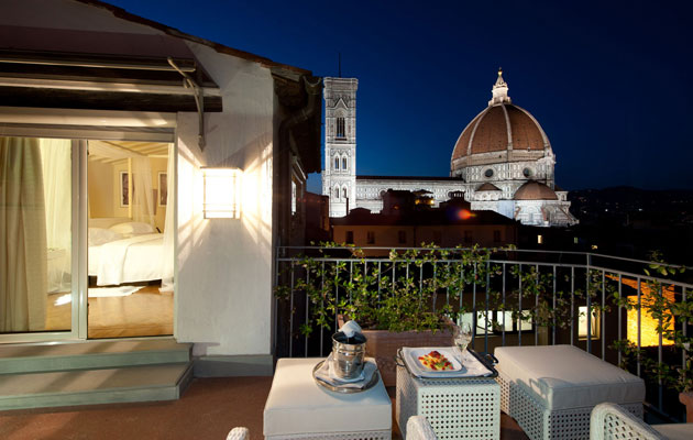 Cathedral of Santa Maria del Fiore - view from Hotel Brunelleschi
