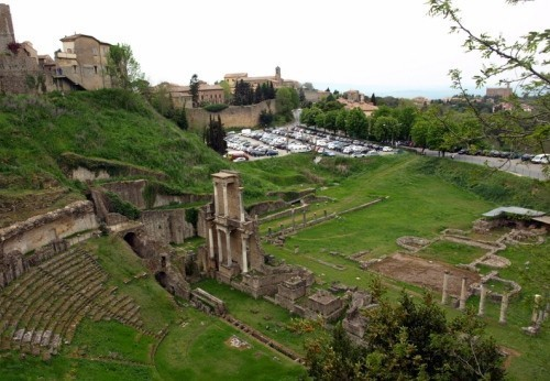 Volterra, Historical heritage in Tuscany