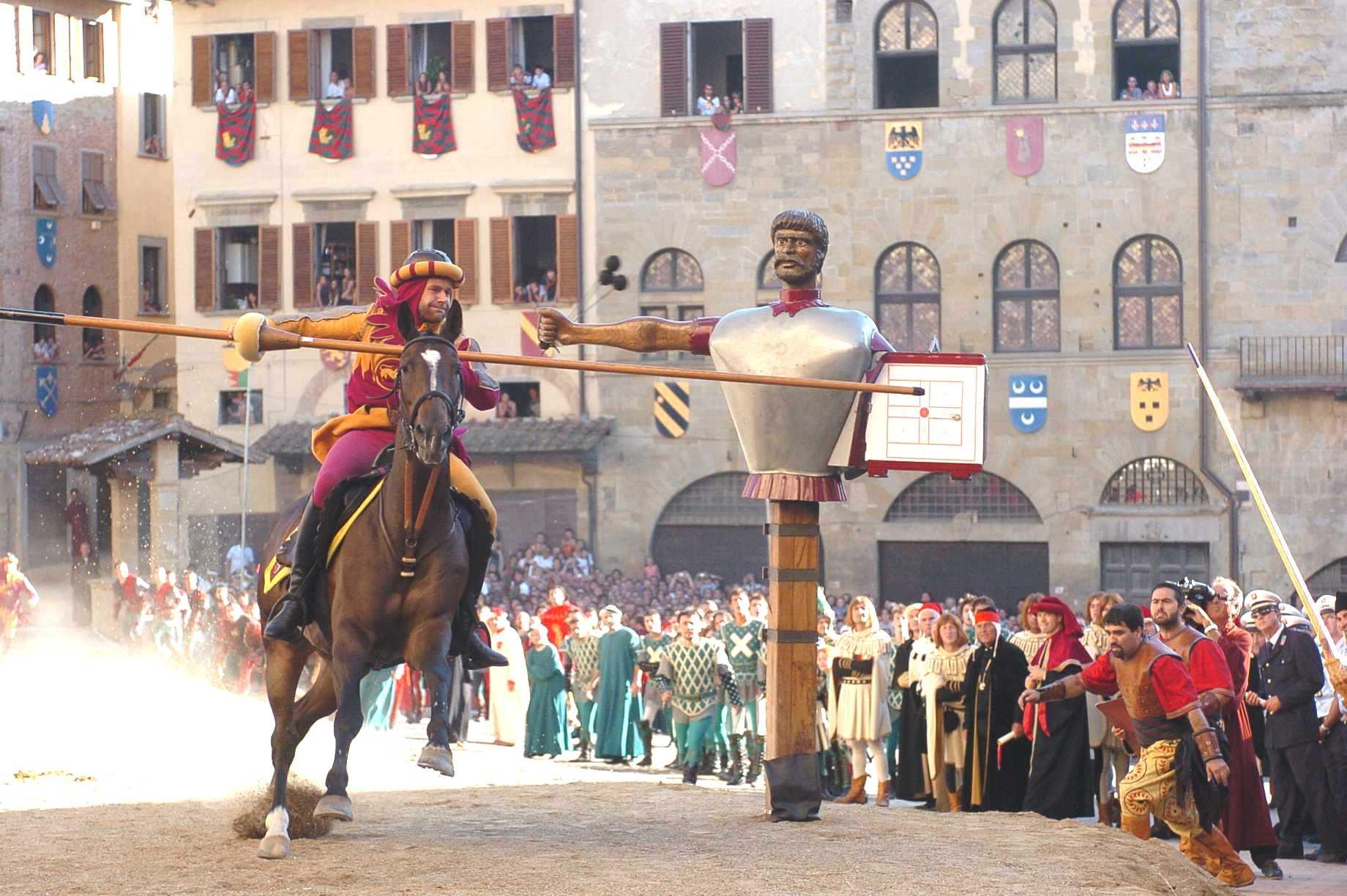 La Joute du Sarrasin 2015 - Arezzo
