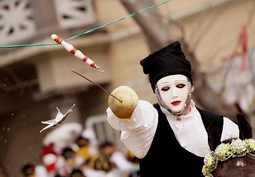 Carnival in Sardinia: Sartiglia, Oristano