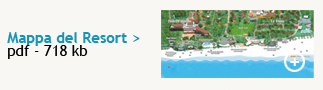 Mappa del Forte Village Resort