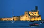 Brindisi-château aragonais