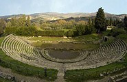 Florence-anfiteatro Fiesole