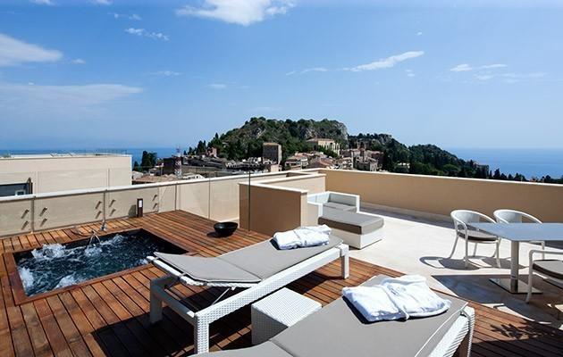 Nh collection taormina taormina exclusive design hotel for Design hotel sicilia