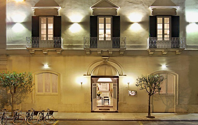 Hotels in syracuse luxury holidays in south eastern sicily for Boutique hotel ortigia