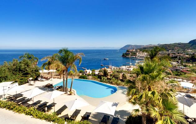 villa enrica hotel country resort in lipari eolische