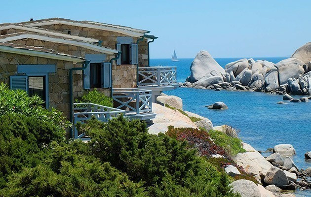 Hotel spa des p cheurs island of cavallo corsica for Best boutique hotels sardinia
