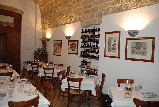 Dove mangiare a bari ristorante alberosole - Ristorante specchia polignano ...