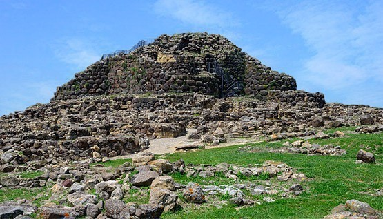 Giara of Gesturi and Nuraghe of Barumini