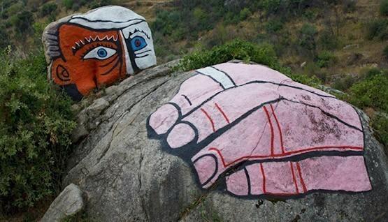 Les peintures murales de Orgosolo et le Musée de Mamoiada