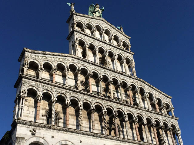 Lucca, Tuscany - S. Michele square