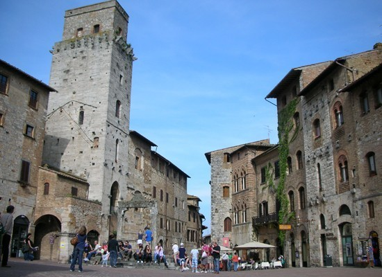 Weekend in San Gimignano, Toskana