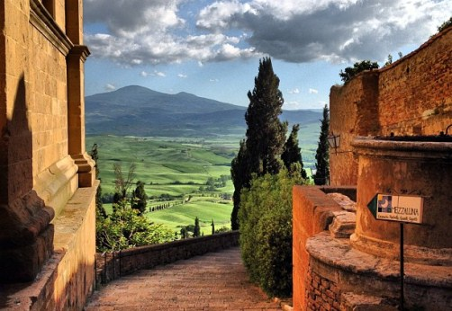Tuscany, Pienza
