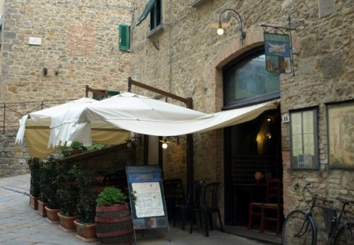 Volterra - Typical Restaurants Tuscany