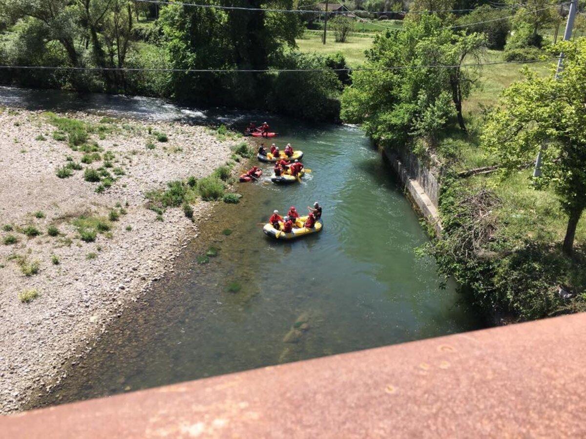 Cilento: Rafting sul fiume