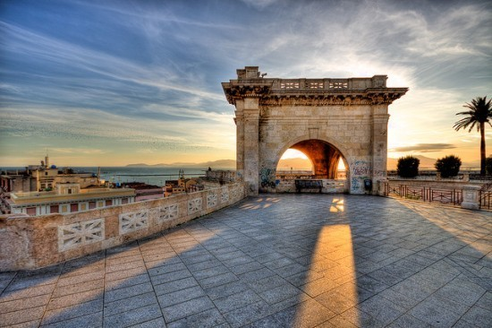 Cagliari - Bastion of Saint Remy