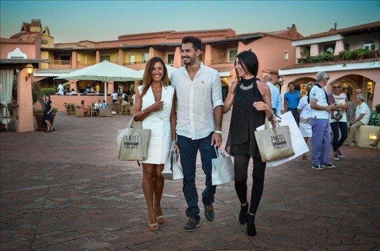 21 agosto 2015 - Shopping night a Porto Cervo