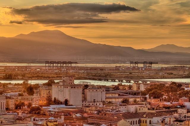 Cagliari - Tramonto