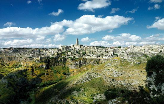 Sites UNESCO dans les Pouilles: I Sassi et Chiese Rupestri