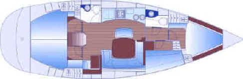 Sail charter Puglia - Bavaria 44
