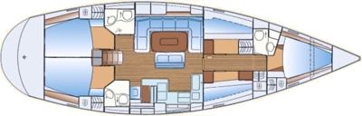Sail charter Puglia - Bavaria 50