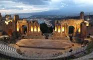 Pfingsten auf Sizilien: Teatro Antico, Taormina