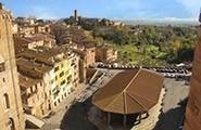 Siena - Piazza del mercato