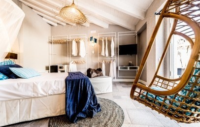 Boutique hotel capo blu santa margherita di pula for Design hotel sardinien