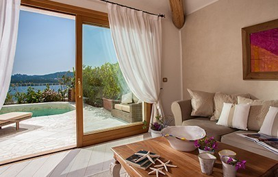 Luxury Suite sea view with private pool