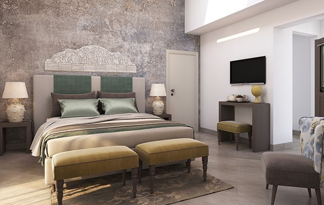 Chambre Deluxe Jacuzzi Terrace