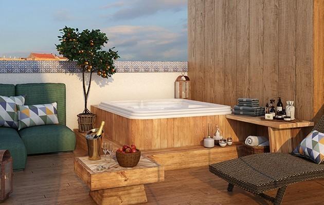 Suite Deluxe Jacuzzi Terrace