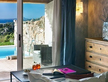 boutique hotels sardinia small romantic design and